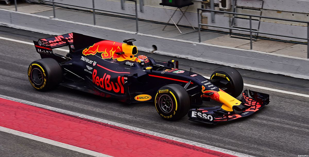Max Verstappen, in the Red Bull RB13, has struggled for race mileage at a time when his teammate has taken five straight podium finishes (Credit: Artes Max [Wikipedia Commons])