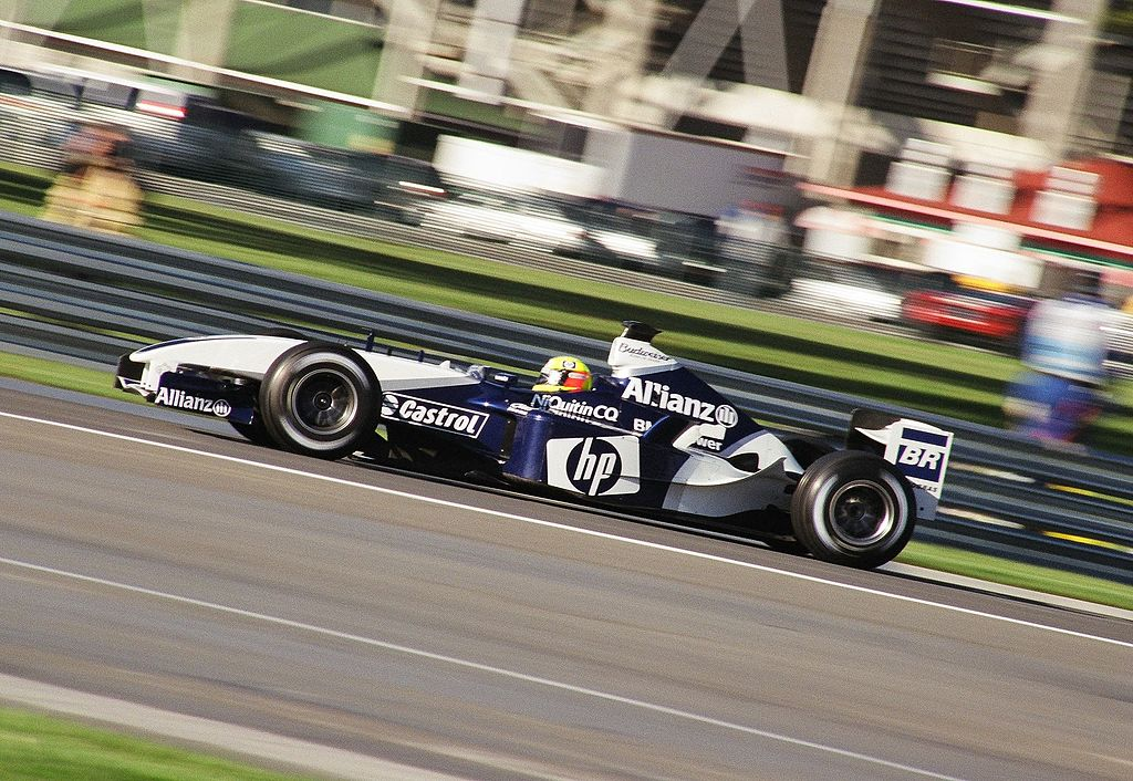 Ralf Schumacher driving the Williams-BMW FW25 in 2003